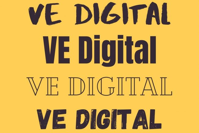 ve digital sample free fonts