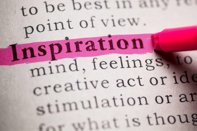 finding motivation and inspiration